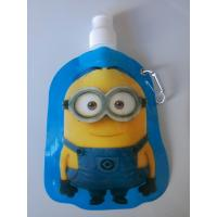 Wholesale Customizable logo PE PET NY Spout Pouches with carabiner hook from china suppliers