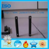 Wholesale Special Slotted Spring Pin(with two holes),spring steel pins,High tensile roll pin with hole,Black slotted pin with hole from china suppliers