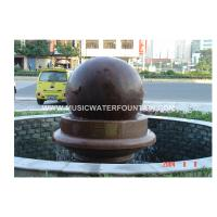 Wholesale Feng Shui Ball / Rolling Ball  Garden Stone Water Fountains  For Indoor Or Outdoor from china suppliers