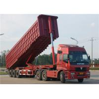 Wholesale Tri-Axle Dump Truck Trailer 40 Tons- 60 Tons 35M3 End Tipper Semi Trailer For Mineral from china suppliers