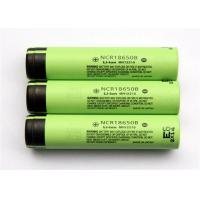 Quality Cylindrical 3.6 V Rechargeable Battery / Lithium 18650 Battery , 18*65mm for sale