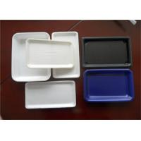 Wholesale Multi - Color Plastic Packaging Trays For Restaurant Cafeteria Dinner Pizzeria from china suppliers