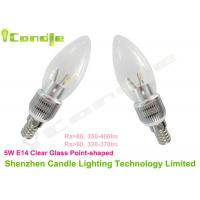 Wholesale Epistar 5W E14 Led Candle Bulb With 360° Beam Angle and No Moisture After Lighting from china suppliers