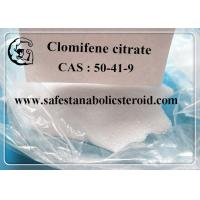 Wholesale Legal Oral Steroids Hormone Clomifene Citrate Clomid Powder CAS 50-41-9 assay 99% from china suppliers