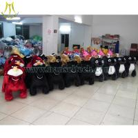Wholesale Hansel plush riding animals on shopping mall with china factory price electric animal ride bike from china suppliers