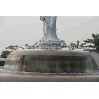 Wholesale Customized Outdoor Waterfall Fountains With Sculpture In The Center from china suppliers