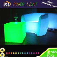 Wholesale Outdoor Illuminated Lighted LED Sofa from china suppliers
