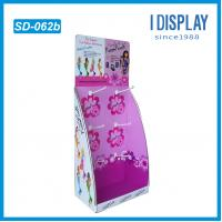 China cardboard E-flute Corrugated Display,point of purchase Display,E-flute Corrugated Display Stands on sale