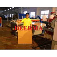 Wholesale Industrial Packing PVC Foam Board Machine , WPC PVC Foam Board Production Line from china suppliers