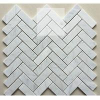 Quality Bianco carrara mosaic for sale