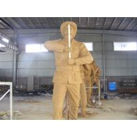 Quality Beautiful Cast Brass Soldier Statue Sculpture for sale