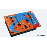 Buy cheap 2 x 10 LED Indicator DJ Power Mixer , 4 Line / 2 Phono / 1 Mic from wholesalers