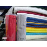 Wholesale OEM White Red Blue Green Thin Cotton Family Hotel Face Towels from china suppliers