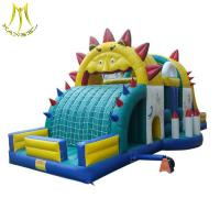 Wholesale Hansel hottest obstable course jumping inflatable kids jumping castle in guangzhou from china suppliers