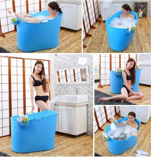 low price food grade plastic tub PP material adult bathtub portable hot tub
