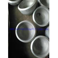 Wholesale Butt Welded Seamless Steel Pipe Cap ASME / ANSI B16.9 UNS S31803 / 2205 from china suppliers