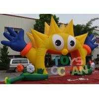 Wholesale Outdoor Decorative Advertising Inflatables Sunflower Entrance Arch For Party from china suppliers