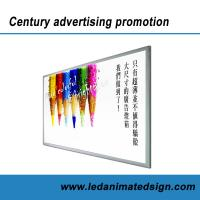 Wholesale Silver aluminum frame led advertising light box with CE from china suppliers