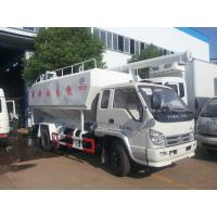 Wholesale best price forland LHD 4*2 8cbm bulk feed discharging truck for sale, forland 4tons livestock and poultry feed truck from china suppliers