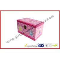Wholesale Customized Gift Packaging Box  Girl Gifts With Lock Dancing Shose Box from china suppliers