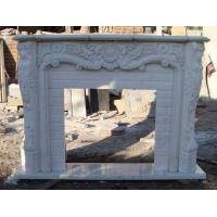 Wholesale Modern Marble fireplace,White Stone Fireplace Marble fireplace, Fireplace Marble Mantel, fireplace stone from china suppliers