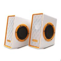 Buy cheap USB Subwoofer Multimedia Computer Speakers , Cool PC 2.0 Channel Speakers from wholesalers