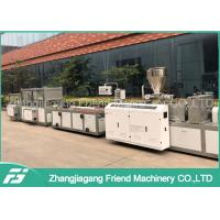 Wholesale Door Skirt Extrusion PVC Plastic Profile Production Line Double Screw Design from china suppliers