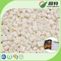 Wholesale Milk White EVA Hot Melt Adhesive , Strong Hot Glue Book Binding from china suppliers