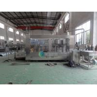 Quality Electric Automatic Bottle Filling Machine / 500 ml Juice Can Filling Line for sale