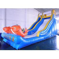 Wholesale 9x4.5m 0.55mm PVC KAHUNA Inflatable Bouncer Slide 30 Feet Attractive Versatile Safe Non Toxic from china suppliers