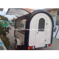 Wholesale Fiberglass Street Food Vending Carts , Mobile Kitchen Cart Catering Trucks from china suppliers