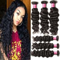 Wholesale Grade 7A Deep Wave Hair 100% Indian Virgin Hair Unprocessed Hair Extension from china suppliers