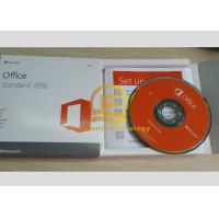 Wholesale Microsoft Office 2016 Retail Box Standard DVD 32 / 64 Bit 1PC English Version from china suppliers