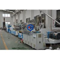 Wholesale BOGDA PVC WPC floor skirting board foam baseboard extruder PVC profile extruder machine from china suppliers