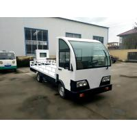 Buy cheap Customized Electric Platform Truck , Enclosed Cab battery operated platform truck from wholesalers
