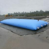 Wholesale Large Flexible PVC Bag pillow agriculture water storage tanks , liquid storage tank 16500lt from china suppliers
