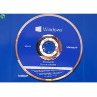 Wholesale Microsoft OEM Product DVD Disk , Windows 8.1 Pro English Version With COA License from china suppliers