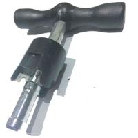 Buy cheap PAP pipe rounder plastic bar gauge with reamer for PEX-AL-PEX from wholesalers