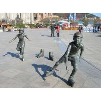 Wholesale cast bronze children sculpture (30 years history) from china suppliers