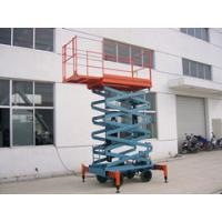 7.5 Meters Hydraulic Mobile Scissor Lift with 450Kg Loading Capacity and Extension platform