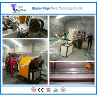 Wholesale PVC Transport Spiral Steel Reinforced Pipe Hose Extrusion Line, Making Machine,Extruder from china suppliers