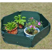 Quality Pop Up Raised Garden Plant Accessories Bed120gsm PE, 210D oxford PVC coated, 1.2x4mm steelwire rods  121x121x30cm for sale