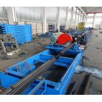 Wholesale 1.8mm Step Beam Rack Roll Forming Machine , Hydraulic Forming Machine from china suppliers