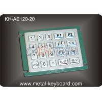 Wholesale IP65 Rated Water - proof Metal Numeric Digital Keypad in 5x4 Matrix 20 Keys from china suppliers