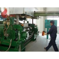 Wholesale 1800 - 2500 Kg/h two roll mill rubber mixing for for plasticizing , calendaring from china suppliers