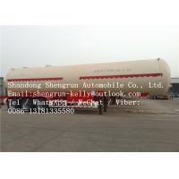 Wholesale 40000KG Diesel Fuel Tanks For Trucks , Liquefied Petroleum Gas Tank Transportation Oil Tanker Trailers from china suppliers