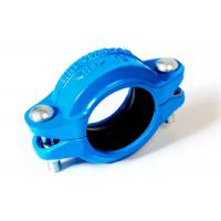 Wholesale Ductile iron flexible couplings for victaulic grooved piping system 350psi 21bar from china suppliers
