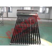 Household Integrated Heat Pipe Solar Water Heater 150 Liter OEM Acceptable