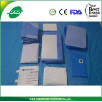 Wholesale Disposable C-section Drape With Collection Pouch from china suppliers