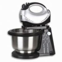 Wholesale 5 Speeds Multi Function 200W Power Silver Stainless Steel Turbo Hand Electrical Blenders, Hand Food Mixer from china suppliers
